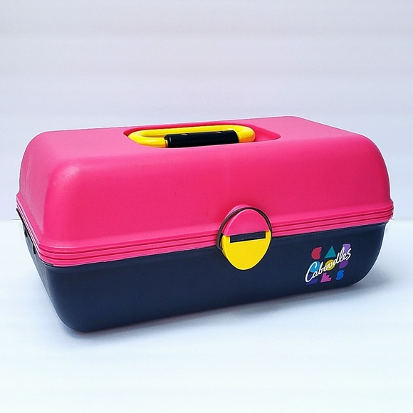 Caboodles Other - Vintage Hot Pink and Black Caboodle Case